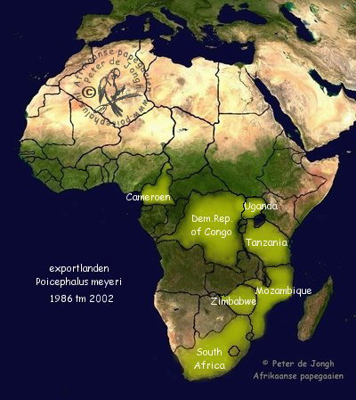 alle landen in afrika